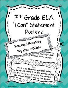 INTERACTIVE READING LITERATURE NOTEBOOKS ~ LITERARY ELEMENTS FOR COMMON CORE 4-8 - TeachersPayTeachers.com
