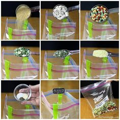 6 Instant Meals-On-The-Go| Just Add Boiling Water