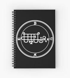 « Sceau Demon Bune » par Talismania Demonology, Solomon, Satan, Magick, It Works, Notebook, Angel, Greeting Card, Witchcraft