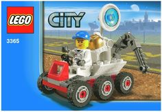 City Space - Space Moon Buggy  [Lego 3365]
