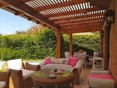Pergola With Retractable Canopy Kit Diy Pergola, Cheap Pergola, Pergola Shade, Pergola Kits, Pergola Ideas, Backyard Patio Designs, Pergola Designs, Gazebos, Pergola Attached To House