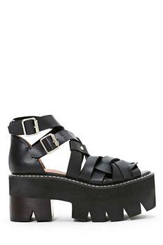 Jeffrey Campbell Cake Platform Sandal -  | Jeffrey Campbell | Sandals |  | Back In Stock | Flats |