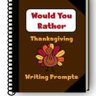 This packet includes 15 Would You Rather writing prompts.   For your convenience, two versions of the Would You Rather writing prompts have been in...