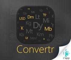 #Download latest #Converter app at  http://www.r3app.com/convertr