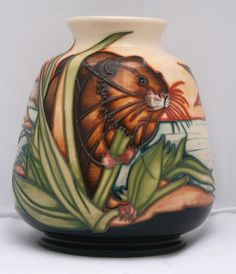 Moorcroft Pottery 125th Ann RSPB King of The Waterways Vase 198/5 Ltd 75 First