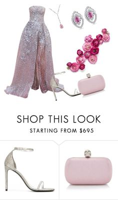 """Outfit # 3915"" by miriam83 ❤ liked on Polyvore featuring Yves Saint Laurent, Alexander McQueen and Allurez"