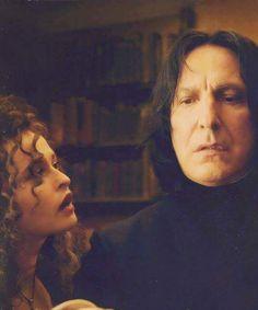 Snape and Bellatrix