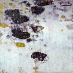 David Kidd Water Over Stones 2013 Acrylic on Birch 48 x 48 x 2
