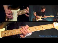 Sharp Dressed Man Guitar Lesson - ZZ Top - Famous Riffs - YouTube