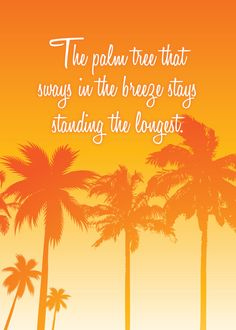 palm tree still standing inspirational quotes | Request a custom order and have something made just for you.