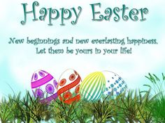 Happy Easter Greetings Messages