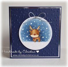 Handmade by Christine: Reindeer Games...