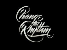 "Delightfully raw. ""Change the Rhythm. Don't allow the routine of life to get in the way of progress."" Change The Rhythm by Neil Secretario"