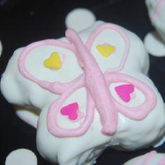 Butterfly cake pop