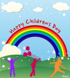 Children's day greeting