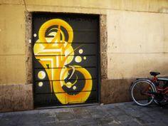 The street art of Barcelona!