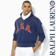 Ralph Lauren USA Fleece Jacket
