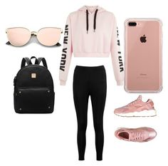 """""""Untitled #5"""" by taylor-jenkins06 on Polyvore featuring Boohoo, NIKE and Belkin"""