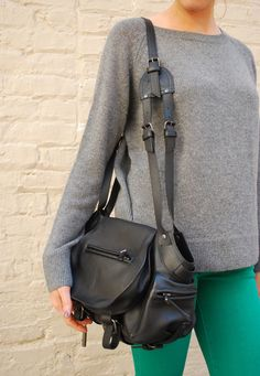 Jerome Dreyfuss Twee black bag $990