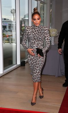 Jennifer Lopez – World of Dance' FYC Event Saban Media Center in North Hollywood… - J Lo Fashion, Fashion Outfits, Womens Fashion, Fashion Trends, Jennifer Lopez Outfits, Jennifer Lopez Dress, Animal Print Fashion, Celebrity Look, Celebrity Dresses