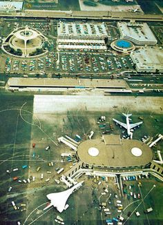 A special visitor to LAX Los Angeles International Airport 1970's