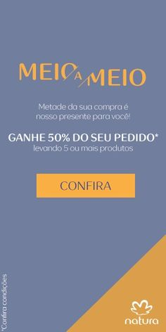 Álbum de promoções_ Meio a Meio_válido até 07/jul   Painel