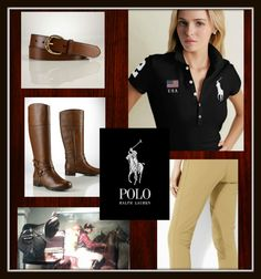 In keeping with EQ's upcoming edition: options for a chic day of polo by Ralph Lauren.