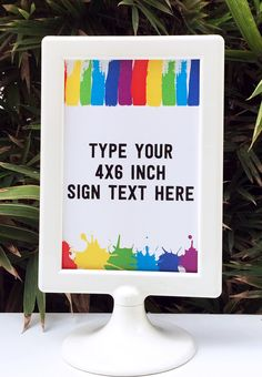Art-party-4x6-sign.jpg (800×1154)