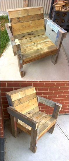 Latest Wooden Pallets Chairs Ideas