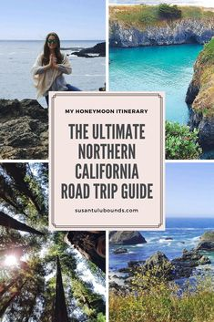 The ultimate California Pacific Coast Highway guide for your road trip. My Honeymoon itinerary to share!