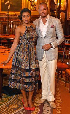 The Empire co-stars go glam for a photocall at the Monaco casino in Monte Carlo.