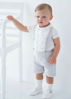 Baby Blue Wedding Dresses, Baby Wedding Outfit, Baby Boy Baptism Outfit, Baby Blue Weddings, Baby Boy Dress, Baptism Outfits For Boys, Fashion Kids, Baby Boy Fashion, Toddler Fashion