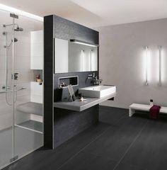 Salles De Bain Italiennes #6 - Photo  De Douche Sur Mesure Optimisant Votre Espace De Salle De Bains