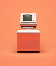 Beautiful photos of ten historic computers by London-based production studio INK and photography by James Ball, aka Docubyte.