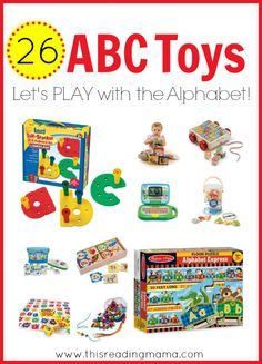 26 ABC Toys for Kids - Let's PLAY with the Alphabet | This Reading Mama