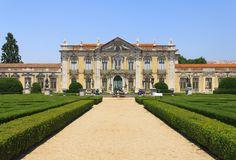 The Queluz National Palace, Queluz, Portugal.