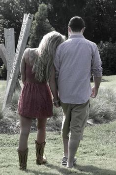 This looks like it would be us :) me in boots, him in tennie shoes. Expect in a little taller lol