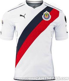 Puma apresenta novos uniformes do Chivas Guadalajara - Show de Camisas  Camisas De Futebol 76e50a6559b1c