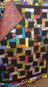 African quilt fabric using
