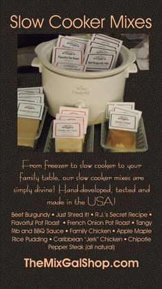 Country Gourmet Home Slow Cooker Mixes