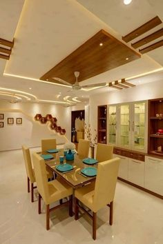 Kitchen Ceiling Design, House Ceiling Design, Ceiling Design Living Room, Bedroom False Ceiling Design, Home Room Design, Dining Room Design, Flat Interior Design, Hall Interior, Interior Lighting