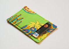 Tropical thin wallet | Chockrosa Etsy
