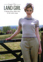 Land Girl by Debbie Bliss. sweaters vintage 1940s fashion