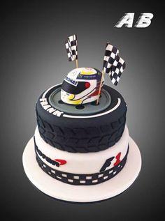 F1 Cake Lewis Hamilton Mercedes