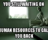 Steph's Novae Diary | Human Resources Meme