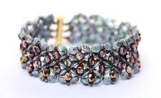"""Glasschliffperlen - DIY Kreativset Armband """"SABINE"""" - 1 - ein Designerstück von PerlenHarmonyOase bei DaWanda"""