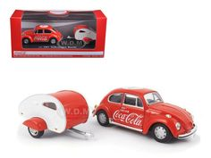 diecastmodelswholesale - 1967 Volkswagen Beetle Coca Cola with Teardrop Trailer 1/43 Diecast Model Car by Motorcity Classics, $19.99 (https://www.diecastmodelswholesale.com/1967-volkswagen-beetle-coca-cola-with-teardrop-trailer-1-43-diecast-model-car-by-motorcity-classics/)