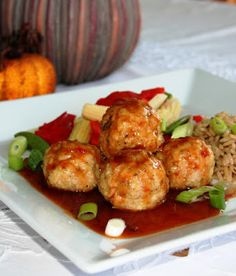 Tao general chicken meatball - Ideas (i will organize this once school is over) - Cuisine et Boissons