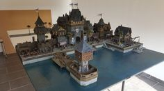 Providence - Medieval City Port Miniature - by Chris Da Silva