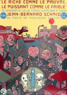 Le Riche comme le Pauvre - Jean-Bernard Schmid by Reumann, Helge | Shop original vintage posters online: www.internationalposter.com